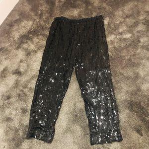 Vintage SILK sequins pants